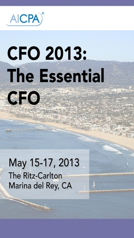 CFO 2013: The Essential CFO