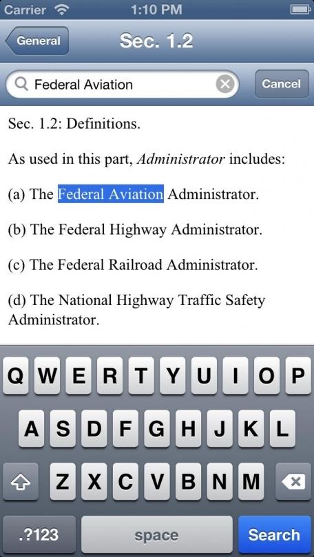 C.F.R. Title 49: Transportation