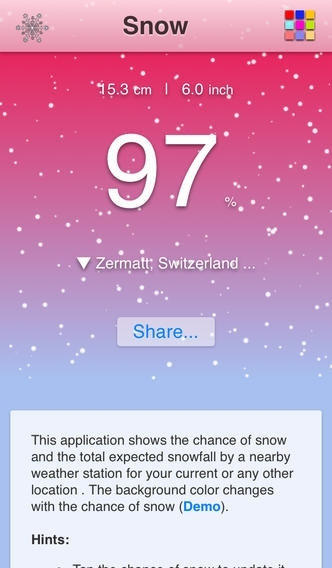 Chance of Snow - Pro