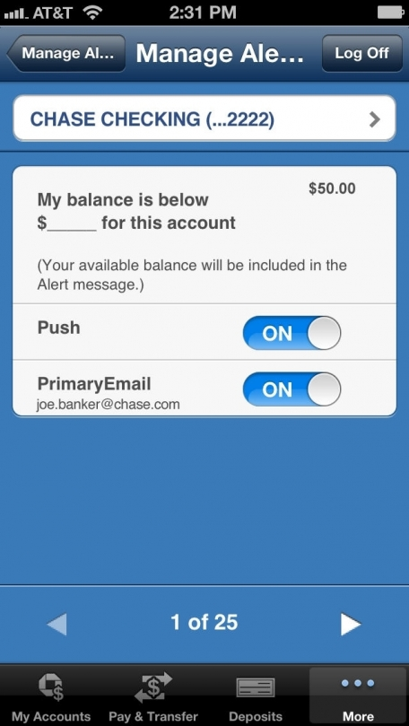 Chase Mobile (SM) Finance App Review (iOS, Free) for July 2018 ...