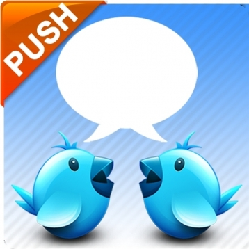 Chat for twitter+Push Free
