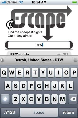 cheap Escape (Cheap Airfare) -- UPDATED!
