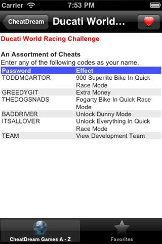CheatDream