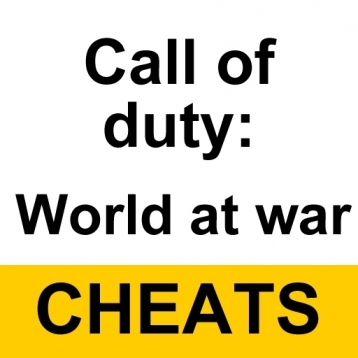 Cheats for Call of Duty: World at War