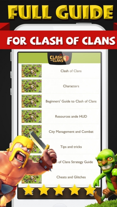 Cheats for Clash of Clans Game  – Full Strategy walkthrough  Tips Video guides