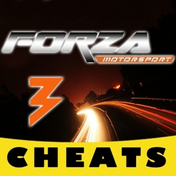 Cheats for Forza Motorsport 3