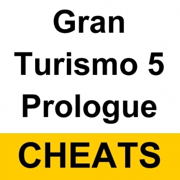 Cheats for Gran Turismo 5 Prologue