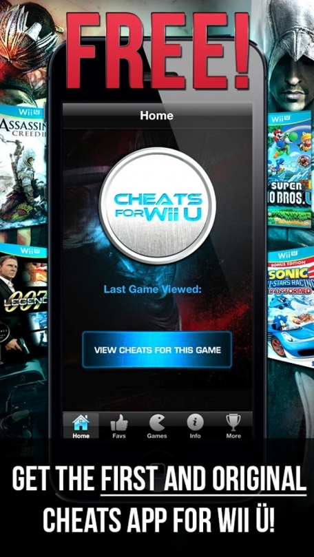 Cheats For Wii U