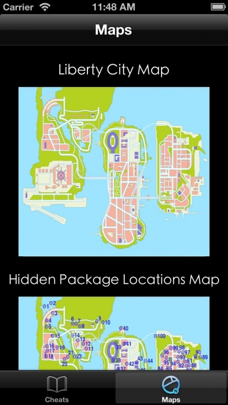 Cheats & Maps - Grand Theft Auto 3 edition