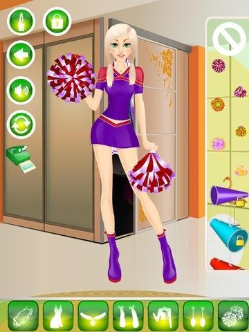 Cheerleader Makeover