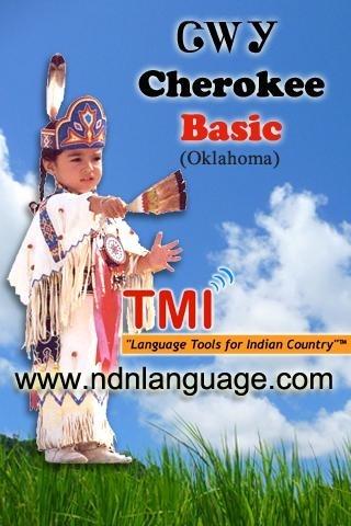 Cherokee (Tsalagi) Native American Language Basic