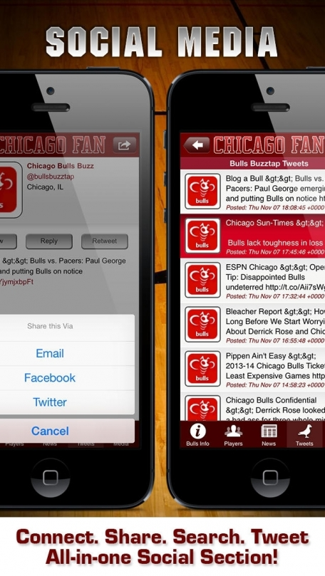 Chicago Basketball App: News, Info, Pics, Videos