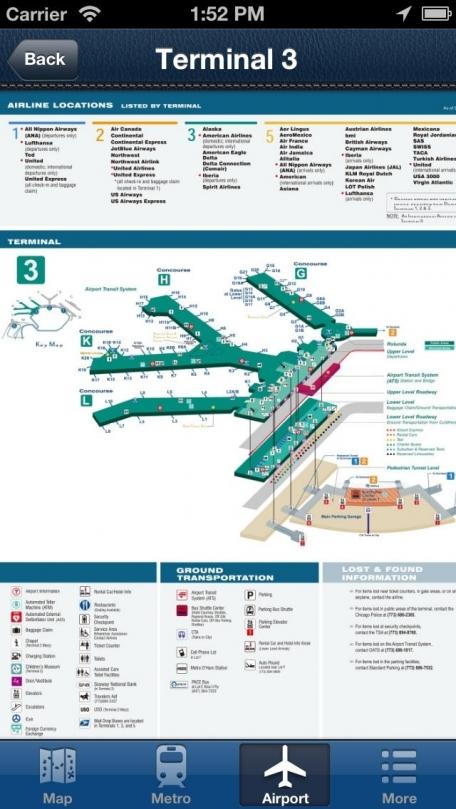 Chicago Offline Map - City Metro Airport