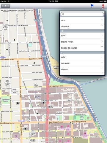 Chicago Street Map.