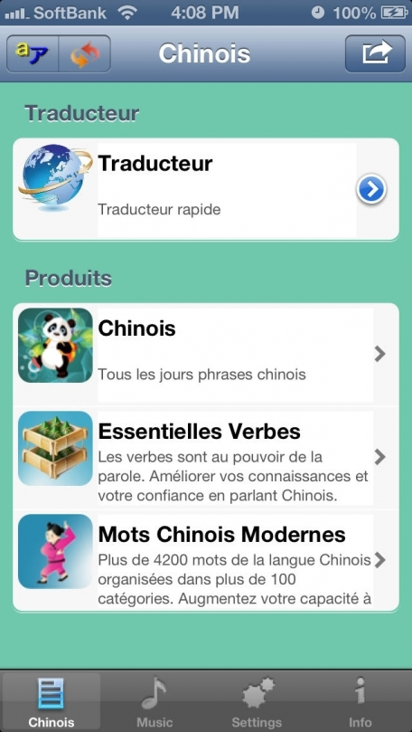 Chinois - Talking French to Chinese Phrasebook
