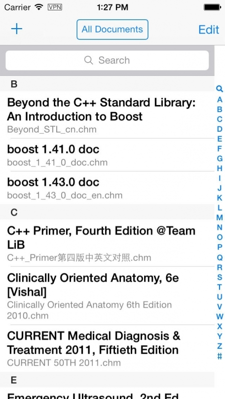 CHMate Premium — The best reader for doctor, student and anyone who want to read medicine, computer science, programming and other ebooks in chm format