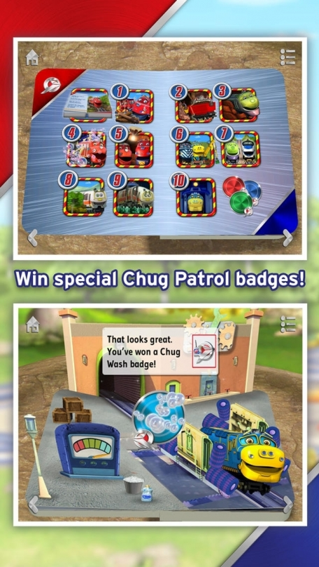 Chug Patrol: Ready to Rescue ~ Chuggington Interactive Pop-up Book