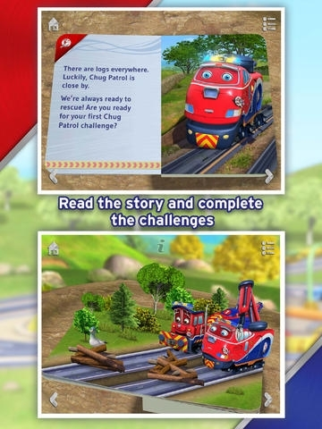 Chug Patrol: Ready to Rescue Free ~ Chuggington Interactive Pop-up Book