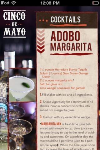 Cinco de Mayo Cookbook Presented by Adobo Grill