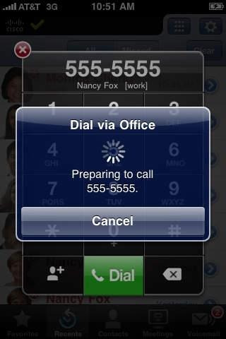 Cisco Unified Mobile Communicator