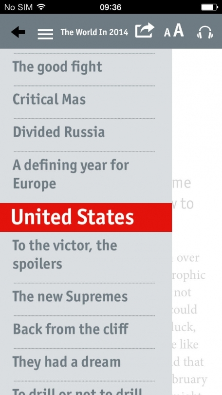 The World in 2014 from The Economist