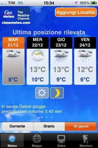 Class Meteo - The Weather Channel