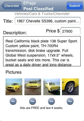 Classifieds Pro