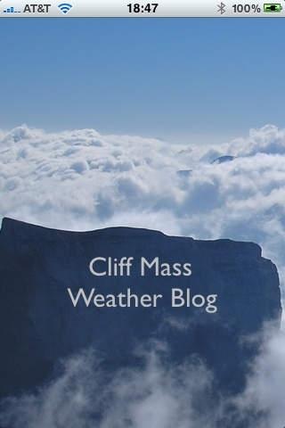 Cliff Mass Weather Blog