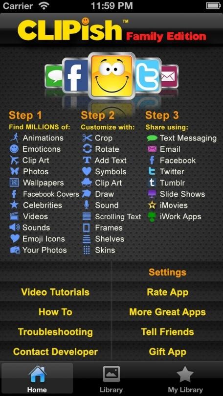 CLIPish FAMILY - Family-Friendly Version of Popular CLIPish App