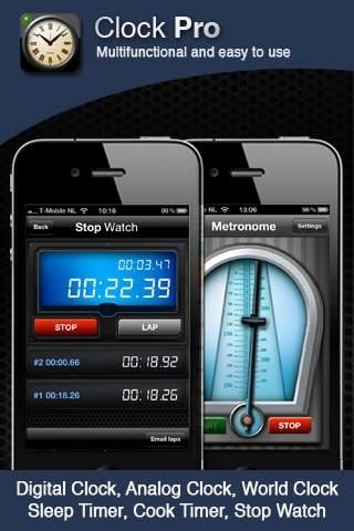 Clock Pro - Clocks, Timers and Alarm Clock