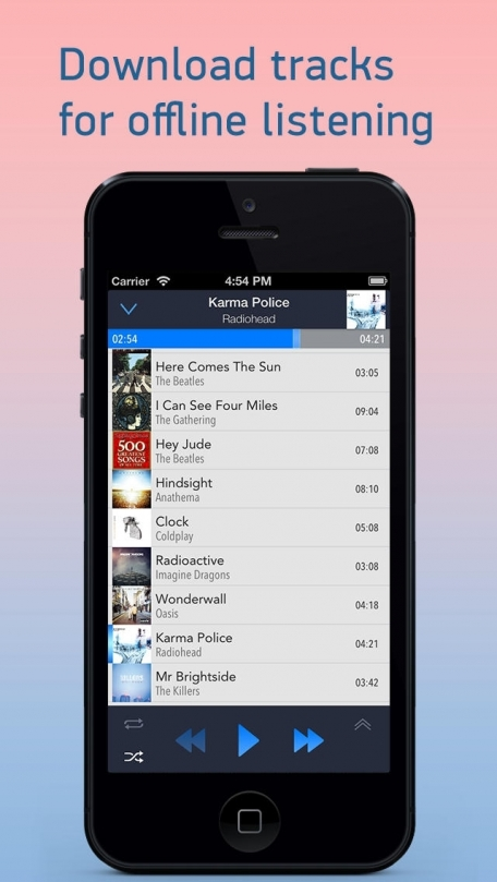 CloudBeats - Music Player for Dropbox, Box, SkyDrive, Google Drive, Mediafire