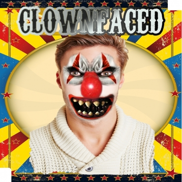ClownFaced - The Scary Clown Face FX Mask Booth