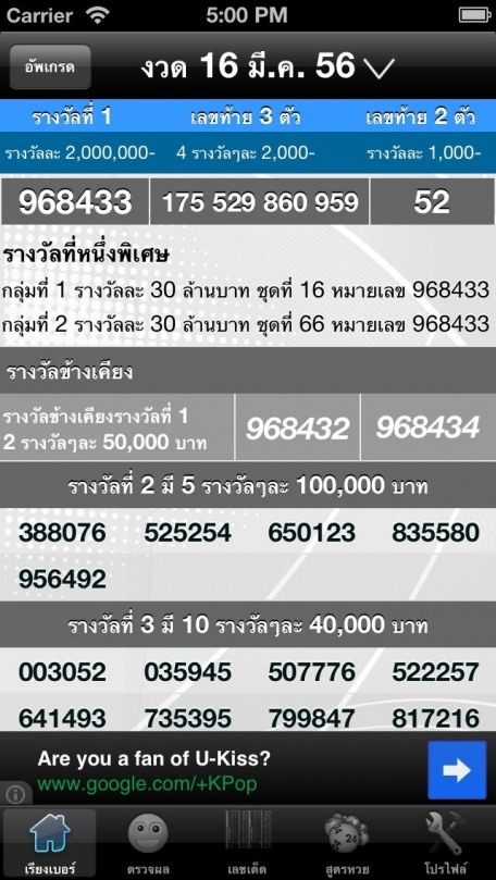 CM Thai Lotto