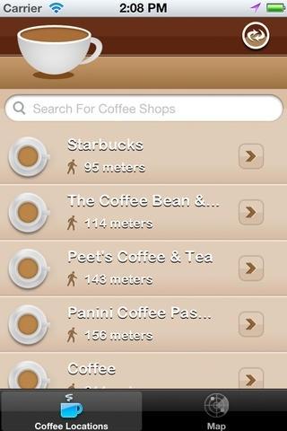 Coffee Shop Finder