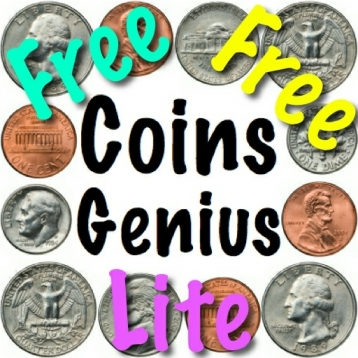 Coins Genius Lite – Crazy Coin Counting Flash Cards Game For Kids