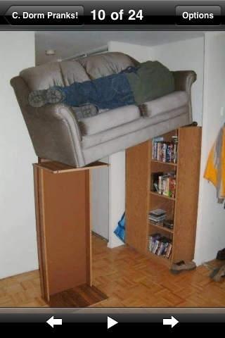 College Dorm Pranks -Pranks Ideas For Dormitory Roommates