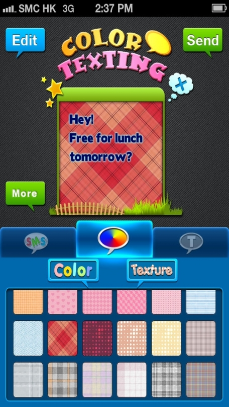 Color & Fonts for Messages