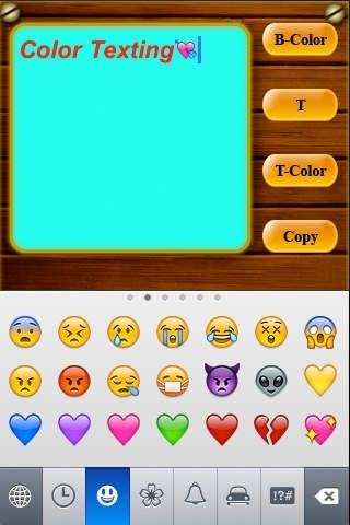 Color iTexting