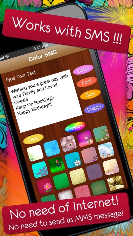 Color SMS - Send Text Messages, Fun with Friends for iMessage, SMS