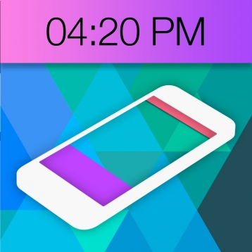 Color Status Bars & Docks Lite - Customize Your Wallpapers with Background Add-ons for Status Bar Battery & Dock Areas