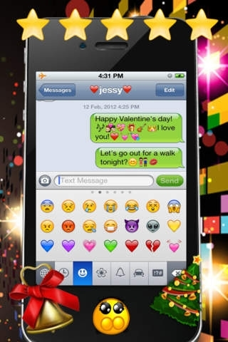 Color Texting - Colorful Bubble Text Messaging Free