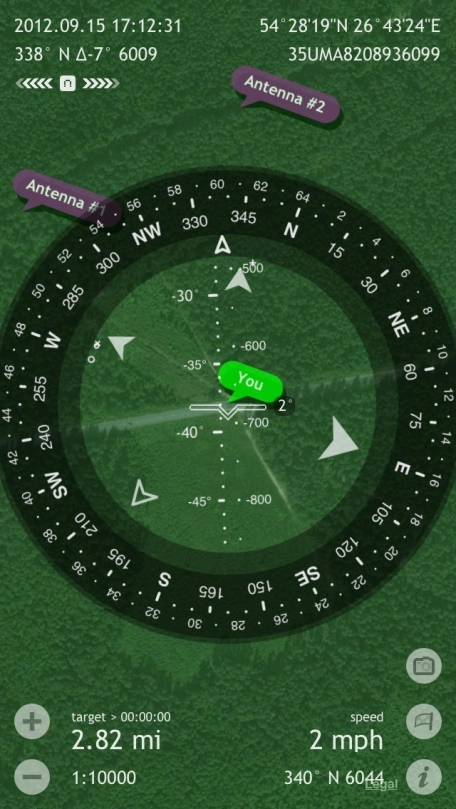 Commander Compass Lite