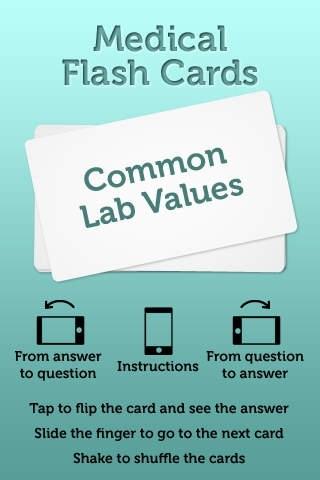 Common Lab Values