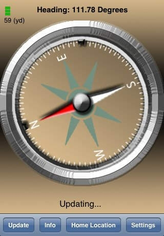 Compass PointMeThere GPS