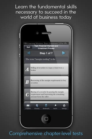 Complete Guide to Investing - MBA Learning Solutions for iPhone