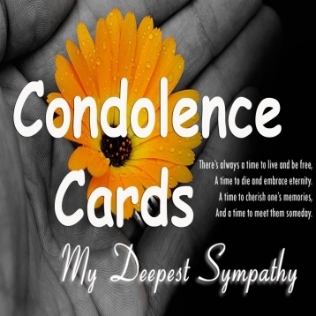 Condolence Cards.Customize and send condolence cards with sympathy text and voice messages