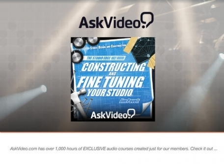 Constructing and Fine Tuning Your Studio