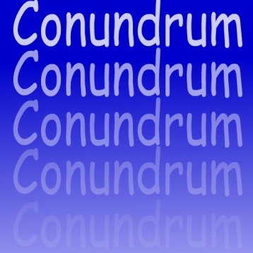 Conundrum - The shake\'em\'up word game.