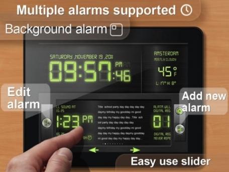 Cool Alarm Clock & Day Reminder