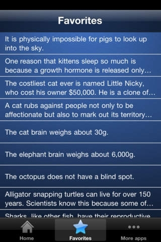 ☆ Cool Facts ★